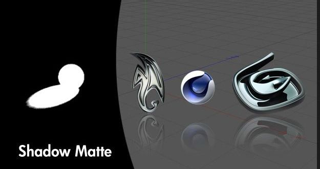 How to render Matte/Shadow map in 3d Studio Max, Maya and