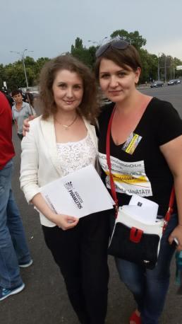 Protest Bucharest · 14.6.15 · Parakletos