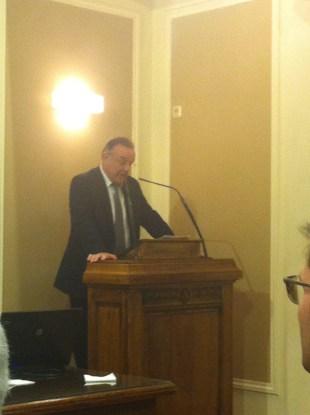 Dr Vasilios Alexandres · President of the Athens Bar