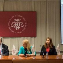 From left to right: Franca Berno, Patricia Suárez, Sigrún Davidsdottir, Boštjan M. Zupančič, Jelena Pavlovic, Alja Pestar, Nicole Kwiatkowski, Dalibor Mrša and Denis Smajo
