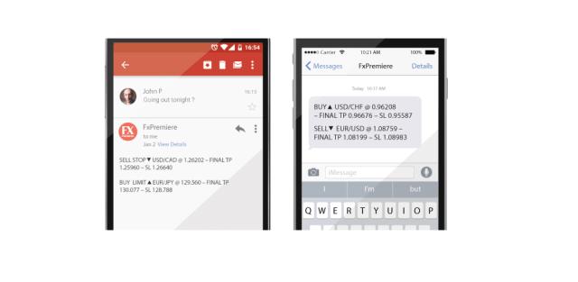 Tirdzniecības karjera ar Forex Signāliem SMS