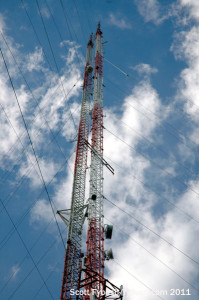 WXXL's towers