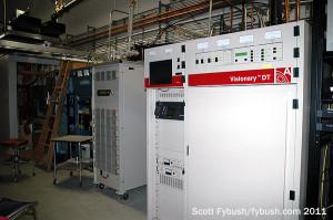 WCLF's transmitter room