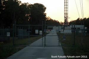 WINK's transmitter building