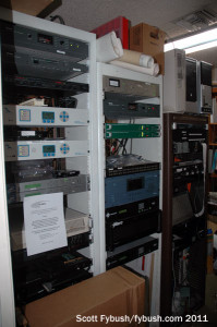 Racks at WTRS/WMFQ