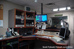 WSKY's air studio