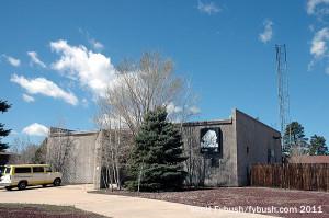 KNAZ's former studio, 2011