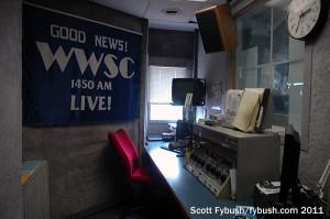 WWSC's studio
