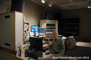 WFIU's main air studio