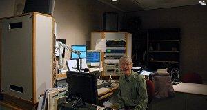 WFIU's main air studio