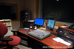 A WFIU production studio