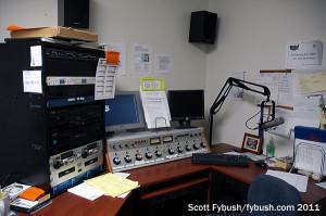 WMYJ-FM's studio
