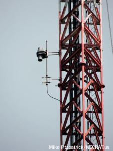 WUMB's new antenna