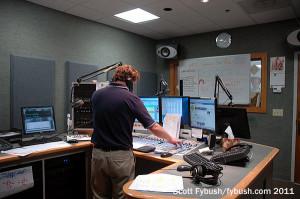 WYJB 95.5's studio