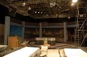 WEVV's defunct news studio