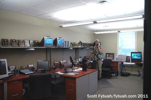 The WIKY newsroom