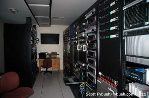 WNIN rack room