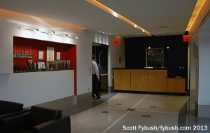 KYW's lobby (for now)