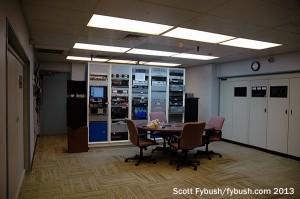 KYW's transmitter room
