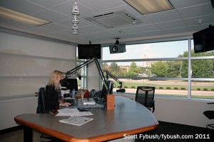WHIO's talk studio