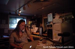 WYSO's air studio