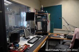 KBRT's island studio