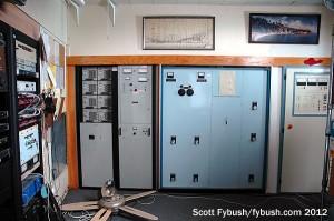 Transmitter room