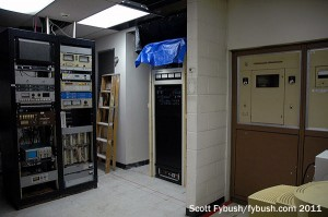 590's transmitter room