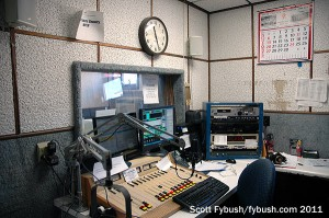WFLR's air studio