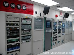 The WNYC/WQXR transmitter room