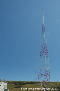 KFMB's north and center towers
