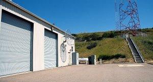 KFMB's transmitter building