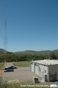 KFMB's south tower and transmitter building