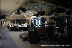Network newsroom
