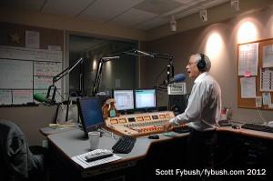 Dave Mason in the 105.7 studio