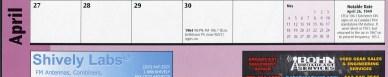 Calendar ad layout002