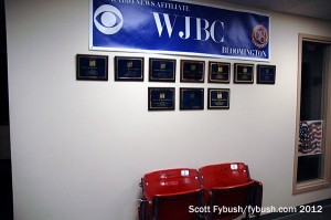 Wall o' awards