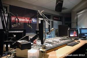 KFTK's talk studio