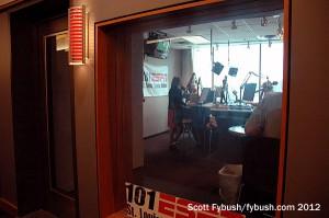 The WXOS/101 ESPN studio