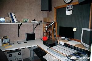 Back production studio