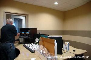 New FM studio
