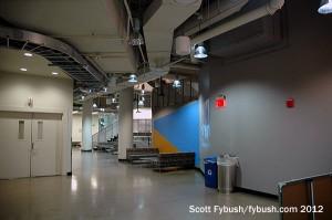Front hallway at WVIZ