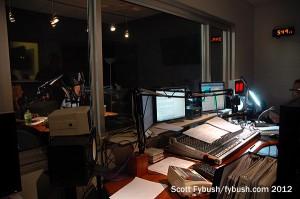 Temporary KPBS-FM studio