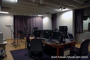 A KPBS-FM studio