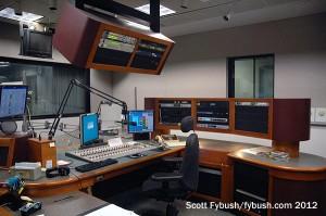 A rebuilt KPBS-FM studio