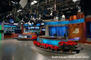 In the KXAS studio