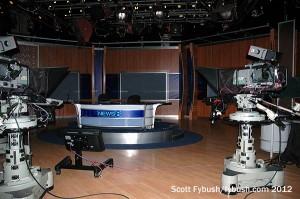 WFAA's main studio