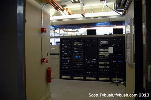 SBS transmitter room