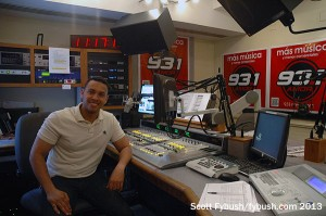 WPAT-FM main studio