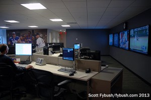 ESPN New York's newsroom
